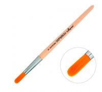 Кисть Синтетика Круглая №9, деревянная ручка, Calligrata