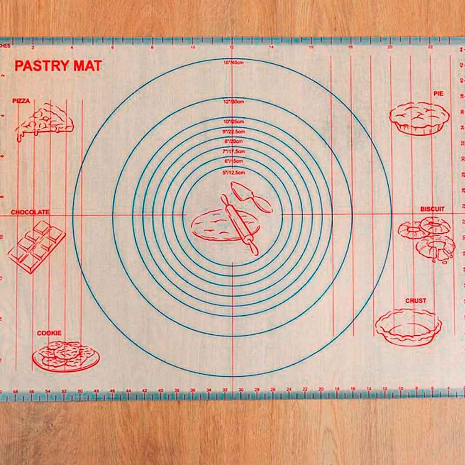 Коврик армированный с разлиновкой 60×40,5 см