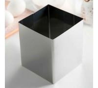 Форма для выкладки и выпечки h=12 см d=10х10 см