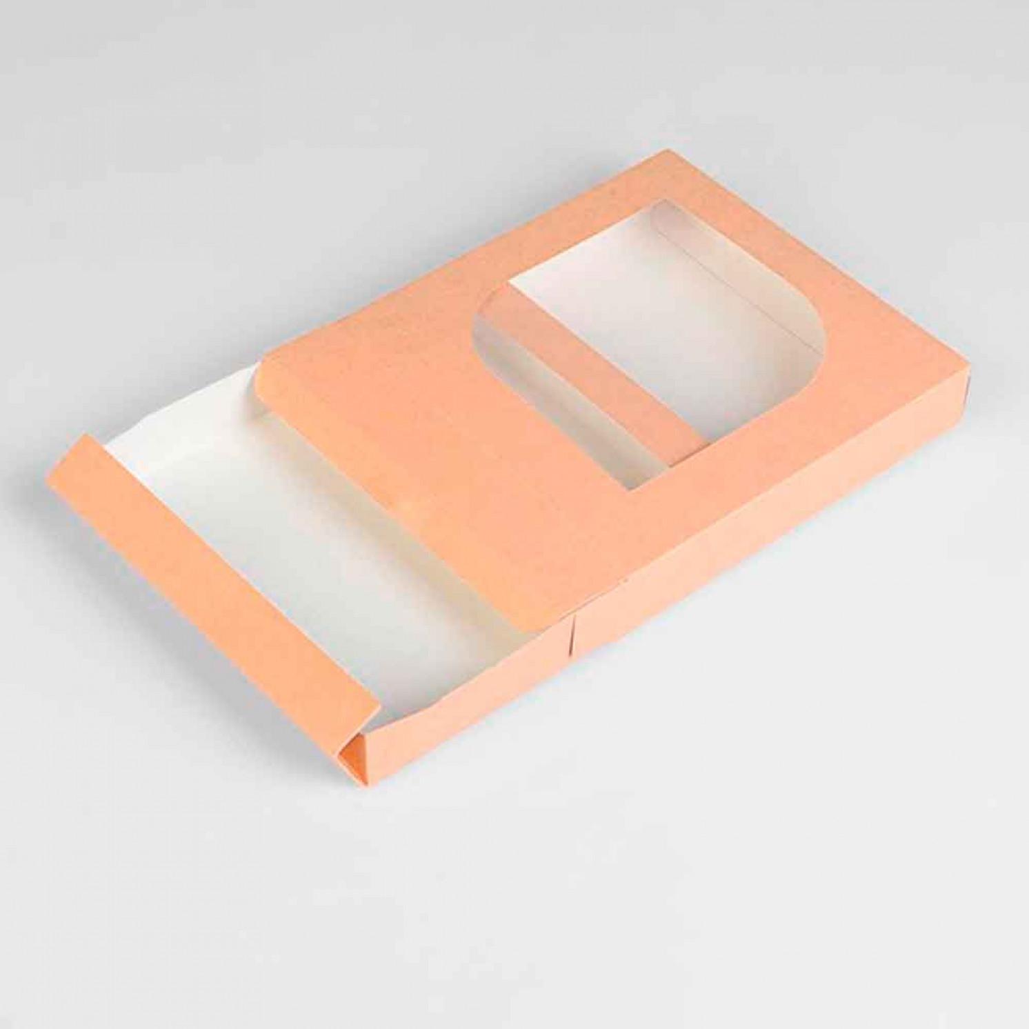 Кондитерская упаковка под зефир 20 х 19 х 3,5 см