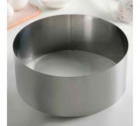 Форма для выкладки и выпечки, 24×10 см