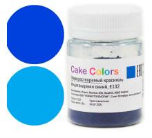 Сake сolors Жирорастворимый сухой краситель Индигокармин синий 10 г