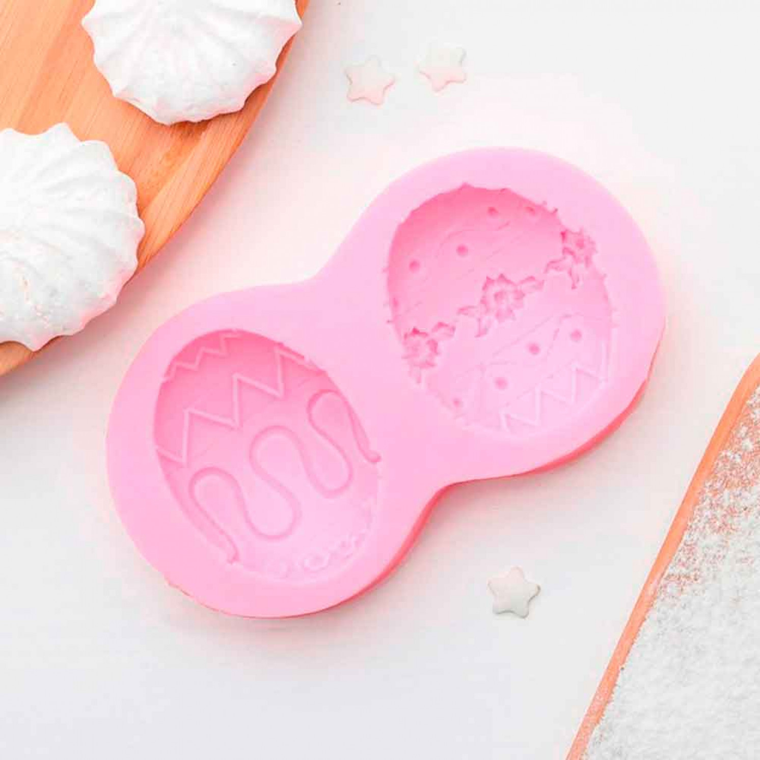 """Молд силиконовый 10,4×5,5 см """"Пасхальное яйцо"""""""