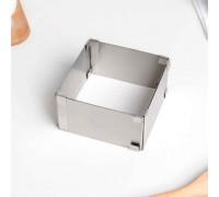 Форма разъёмная для выпечки кексов с регулировкой размера 9,2-16 см