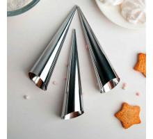 Набор форм для круассанов и трубочек 14х3,5 см, 3 шт