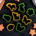 """Набор форм для печения """"Празднование пасхи"""", 8 шт, цвет МИКС"""