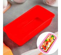 Форма для выпечки 22×11 см «Хлеб» внутренний размер 20,7×10 см, цвет МИКС
