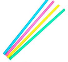 Набор трубочек для коктейля, 7х210 мм, Fresh, цветные, 250 шт в упаковке