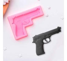 """Молд силиконовый 11×7,5 см """"Пистолет"""""""