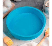 Форма для выпечки «Круг», 24×5 см, цвет МИКС