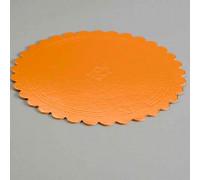 Подложка усиленная, волна, 26 см, золото-черный, 3,2 мм