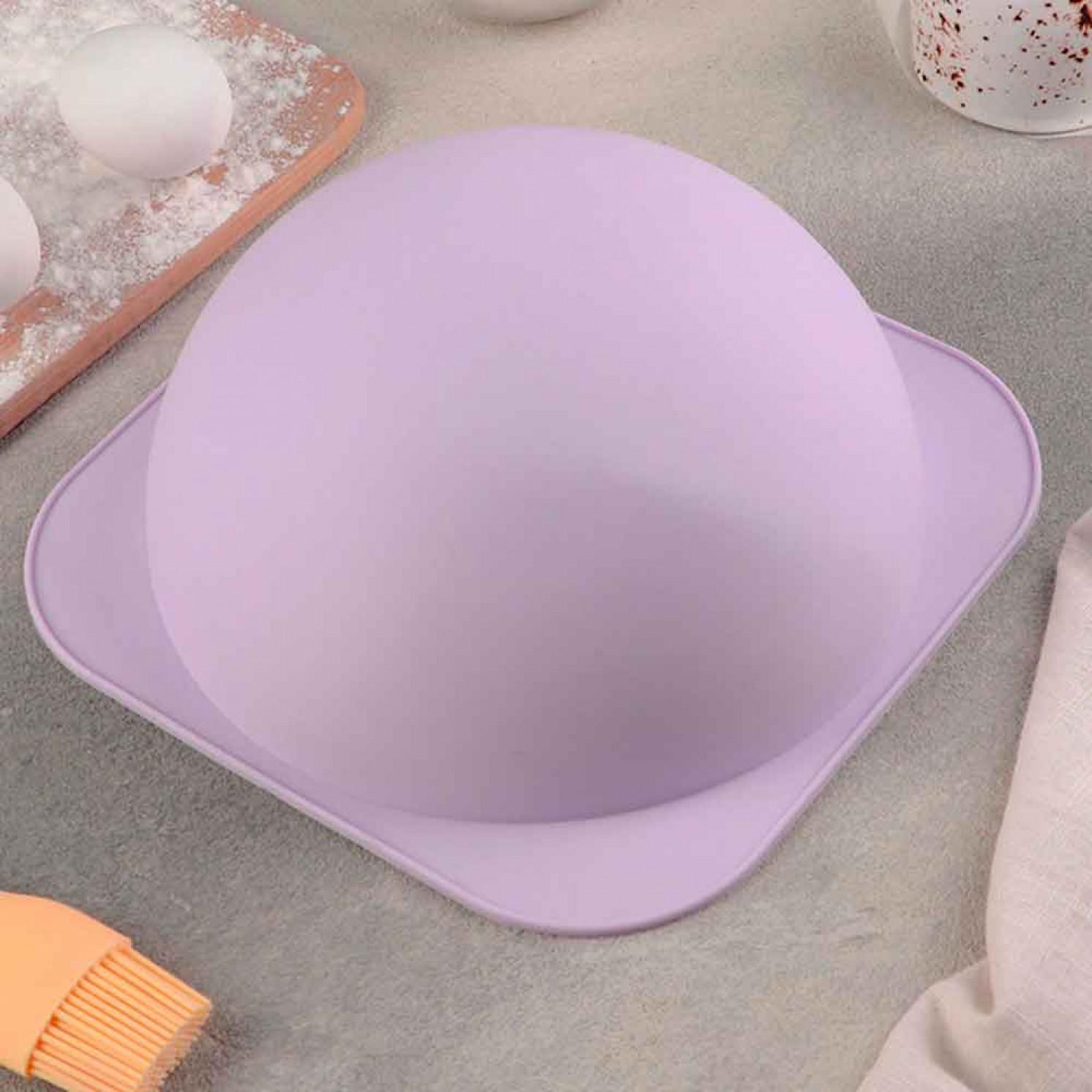 Форма для выпечки круглая «Шар», внутренний d=21 см, 21,3 см, цвет МИКС