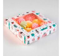 "Коробка самосборная бесклеевая, ""Подарки"", 16 х 16 х 3 см"