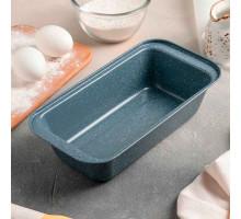 Форма для выпечки «Мрамор», 25,5×14,5×5,5 см, антипригарное покрытие