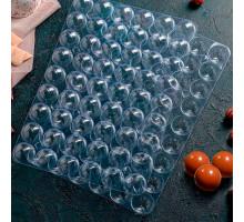 Форма для шоколада из 2-ух частей «Конфеты», 31,5×21 см, 54 ячейки (3×1,5 см)