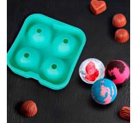 Форма для льда и леденцов 12×5 см, цвета МИКС