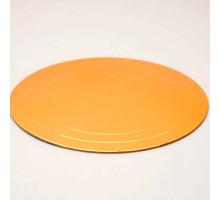 Подложка усиленная золото/жемчуг D 200 мм ( Толщина 3,2 мм )