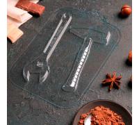 Форма для шоколада «Ключ и молоток»