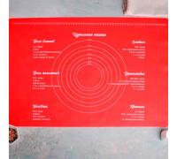 Силиконовый коврик для выпечки «Идеальное тесто», 64 х 45 см