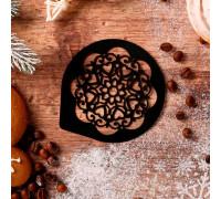 Трафарет для кофе «Узор», 9,5 х 8,5 см