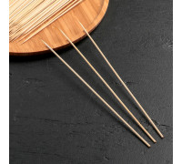 Набор шампуров деревянных 25 см, d=3 мм, 85-90 шт