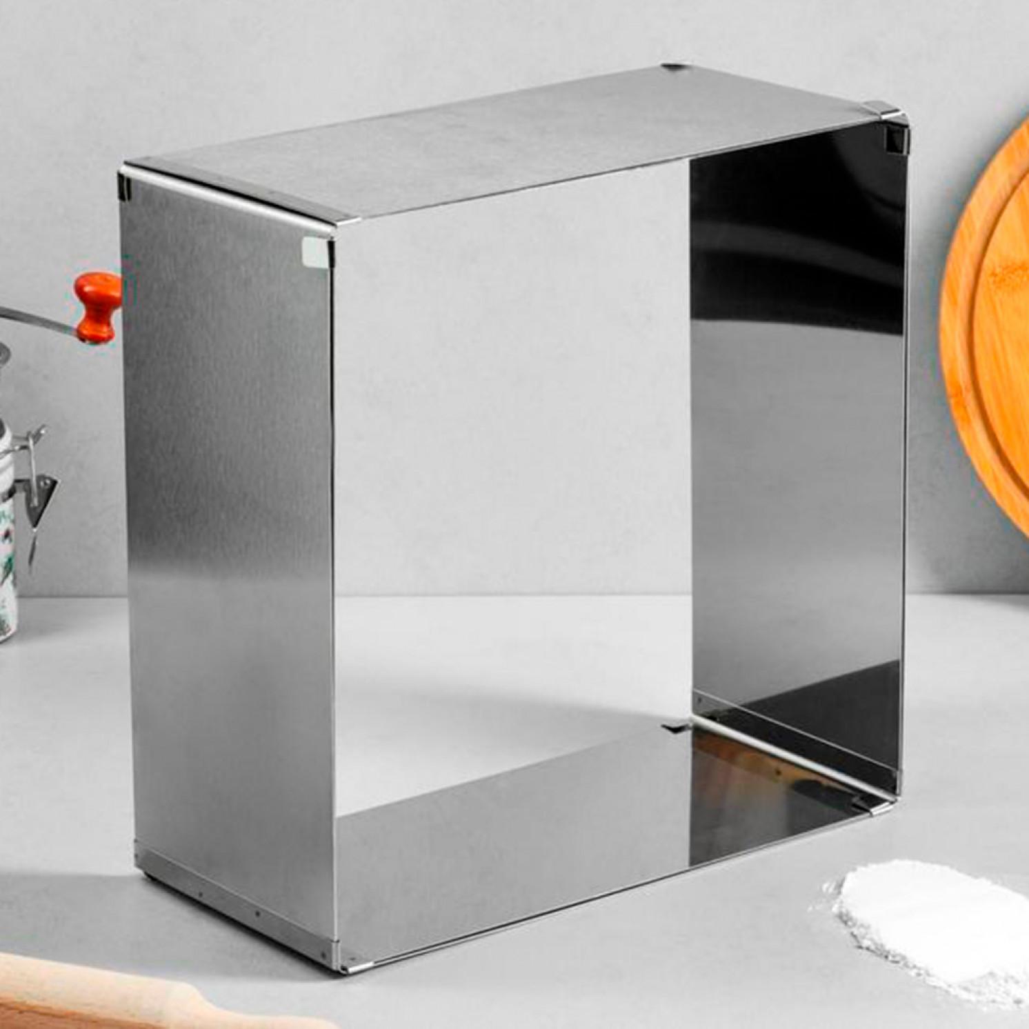 """Форма для выпечки с регулировкой размера """"Квадратная"""", 30-58 х 14 см, 1 сорт"""