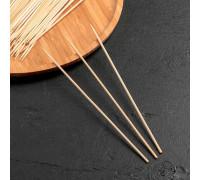 Набор шампуров деревянных 20 см, d=3 мм, 85-90 шт
