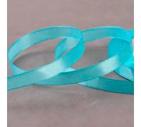 Лента атласная, 10 мм × 23 ± 1 м, цвет голубой №11