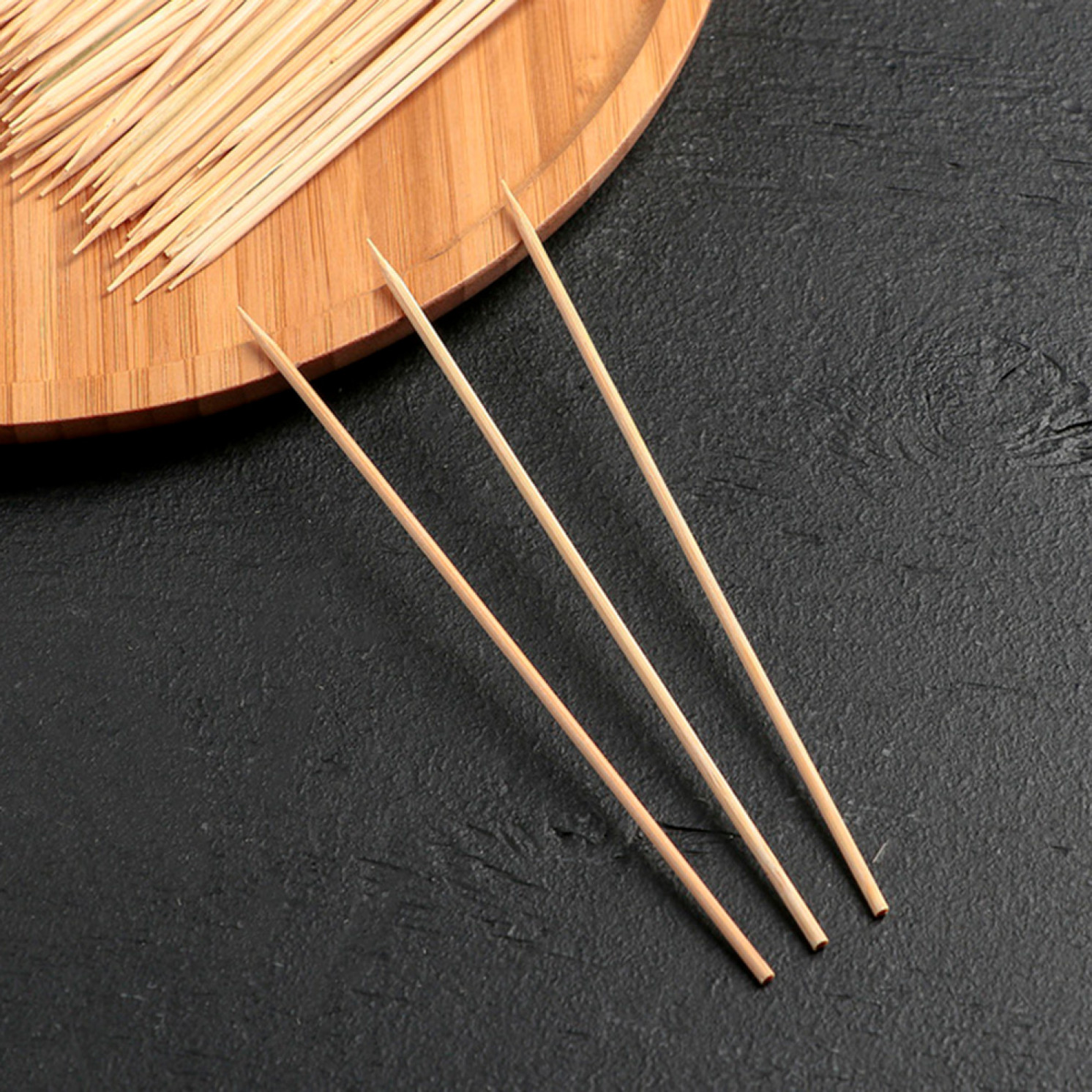 Набор шампуров деревянных 15 см, d=3 мм, 85-90 шт