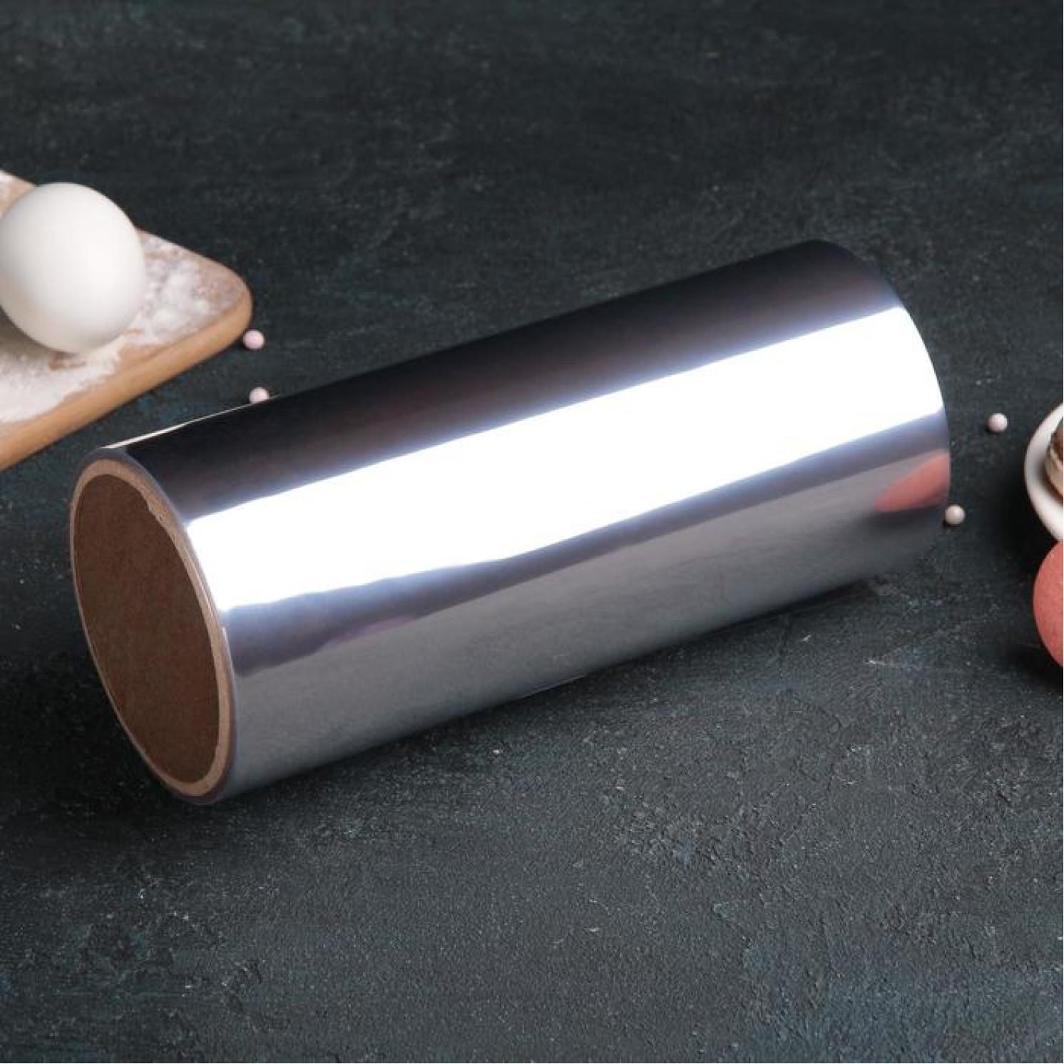 Лента бордюрная для обтяжки тортов 130 мкр × 200 мм × 5 м