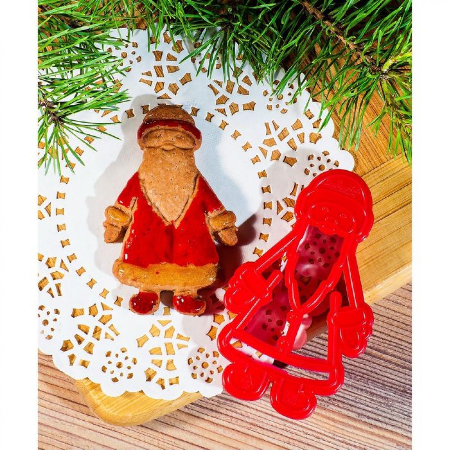 Форма для вырезки теста «Дед Мороз»