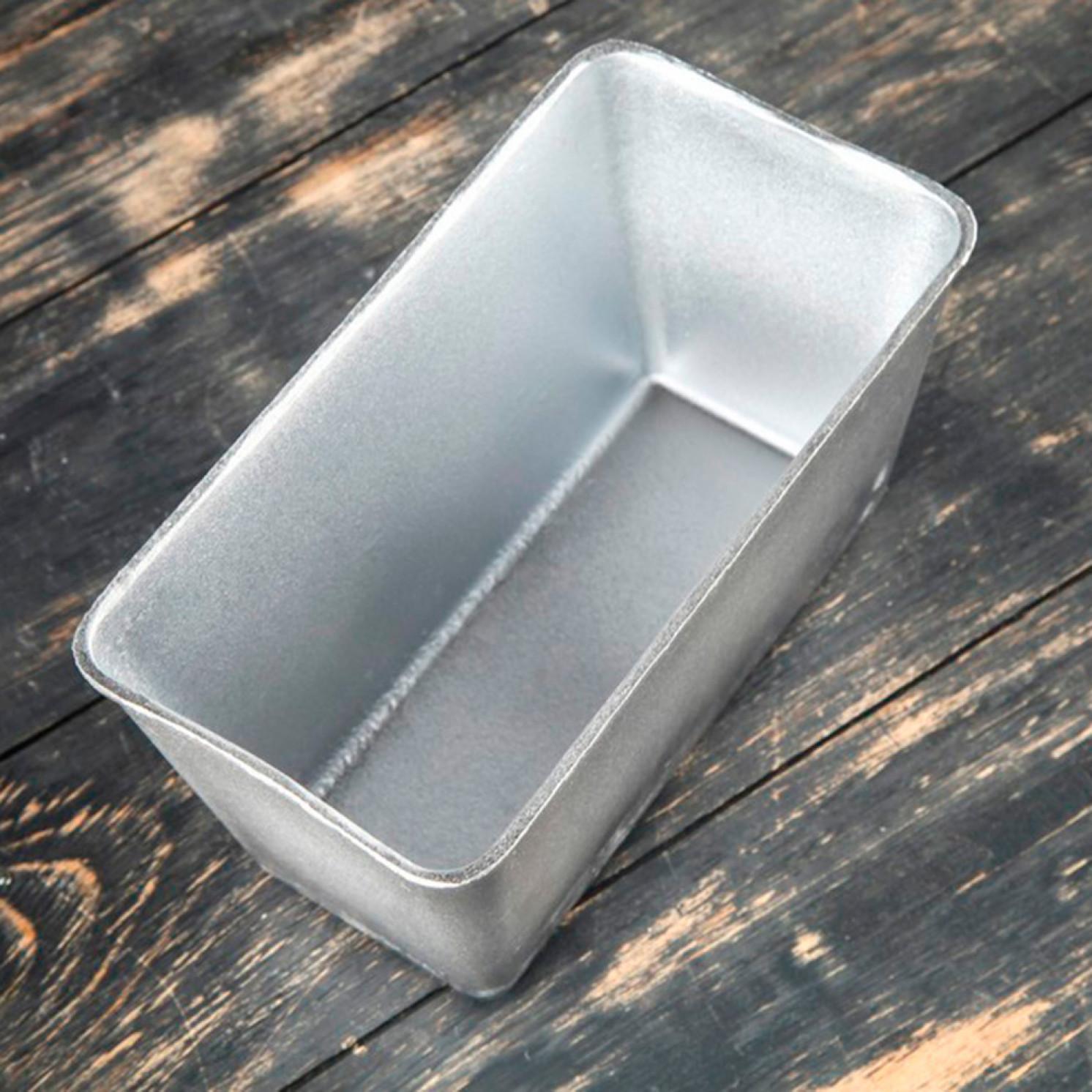 """Форма для выпечки хлеба """"Кирпич"""", алюминиевая, 21,5×11,5×11 см"""