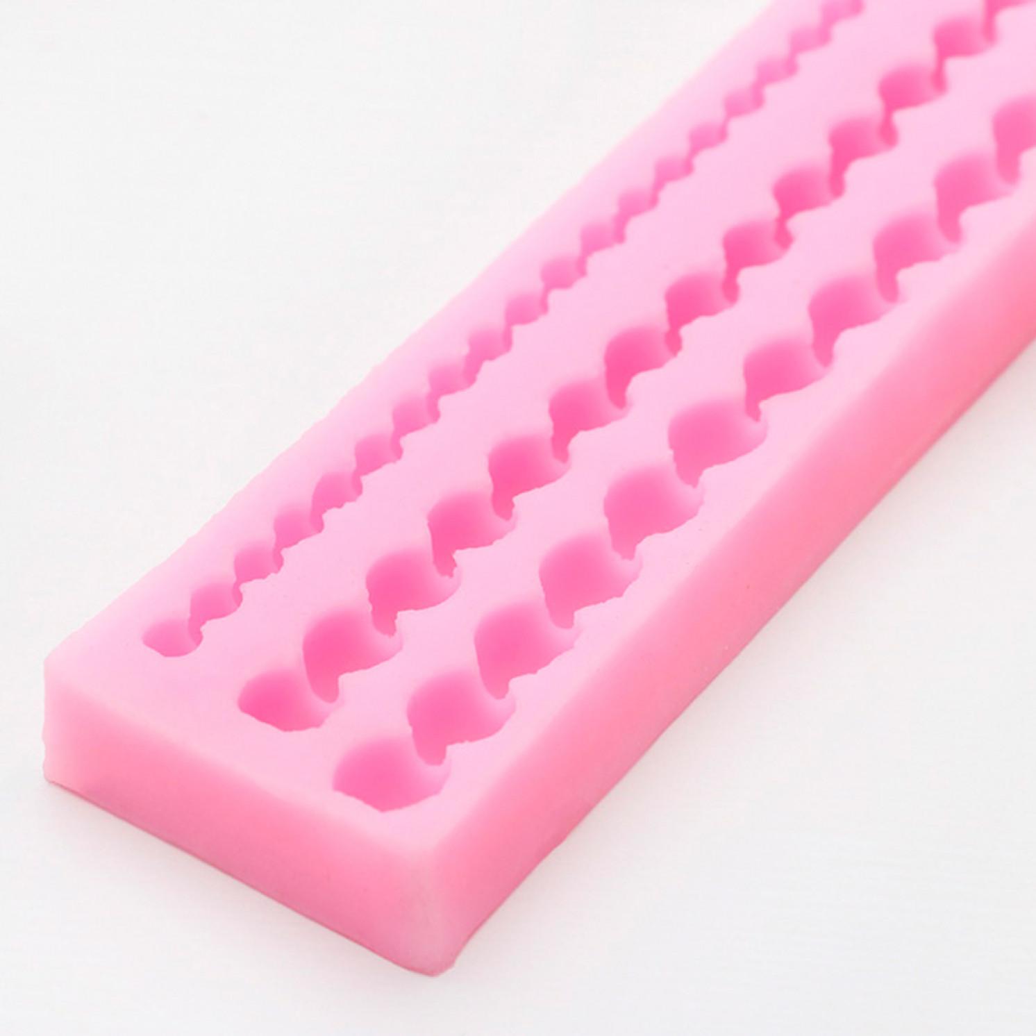 Молд силиконовый «Жемчужная нить», 29×4,2 см