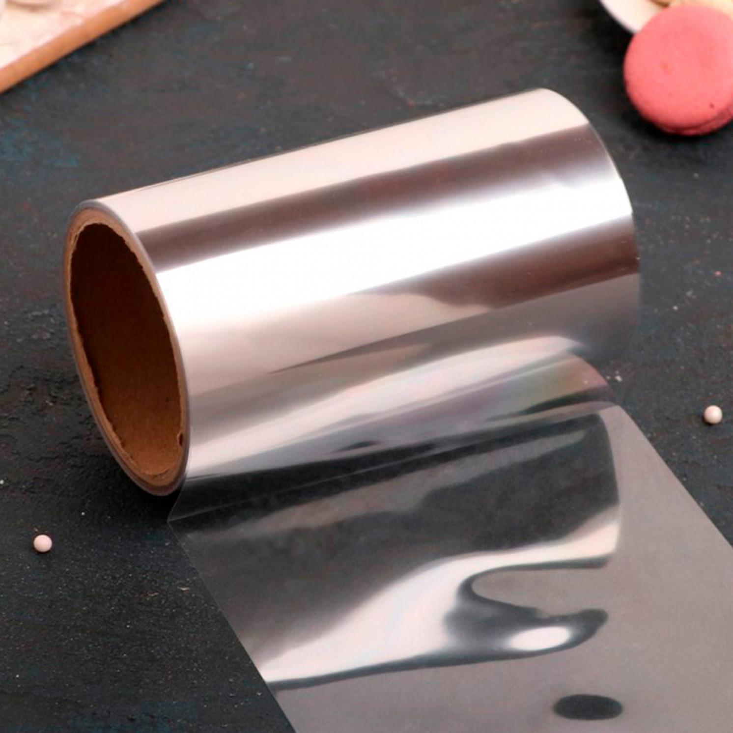 Лента бордюрная для обтяжки тортов 130 мкр × 150 мм × 5 м