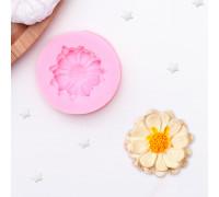 Молд силиконовый «Цветок», 5×4 см, цвет МИКС