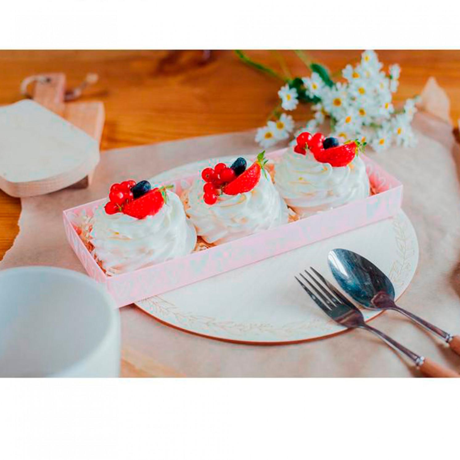 Коробка для десерта love you, 26, 2 х 8 х 9,7 см