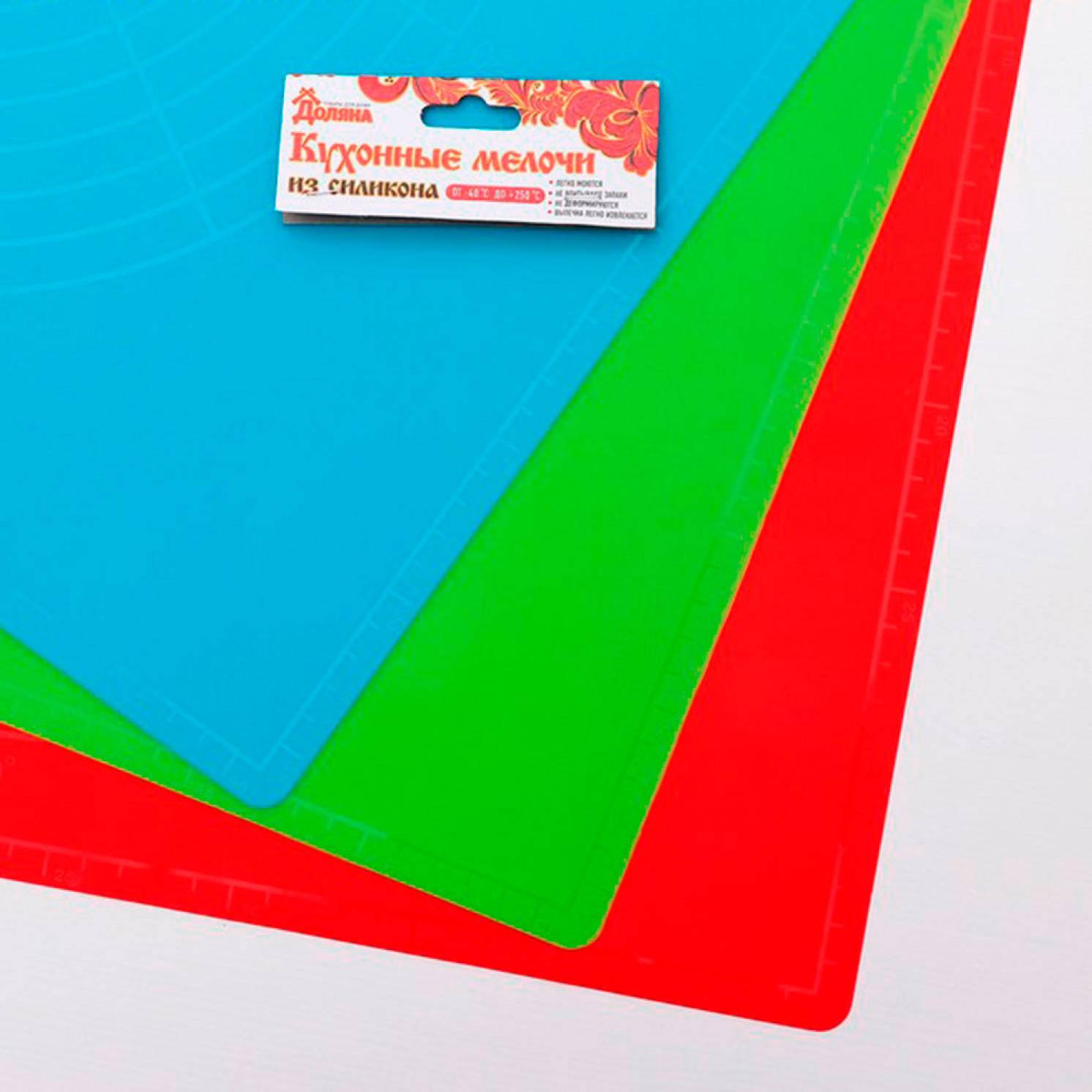Коврик с разлиновкой «Буссен», 49×39 см, цвет МИКС