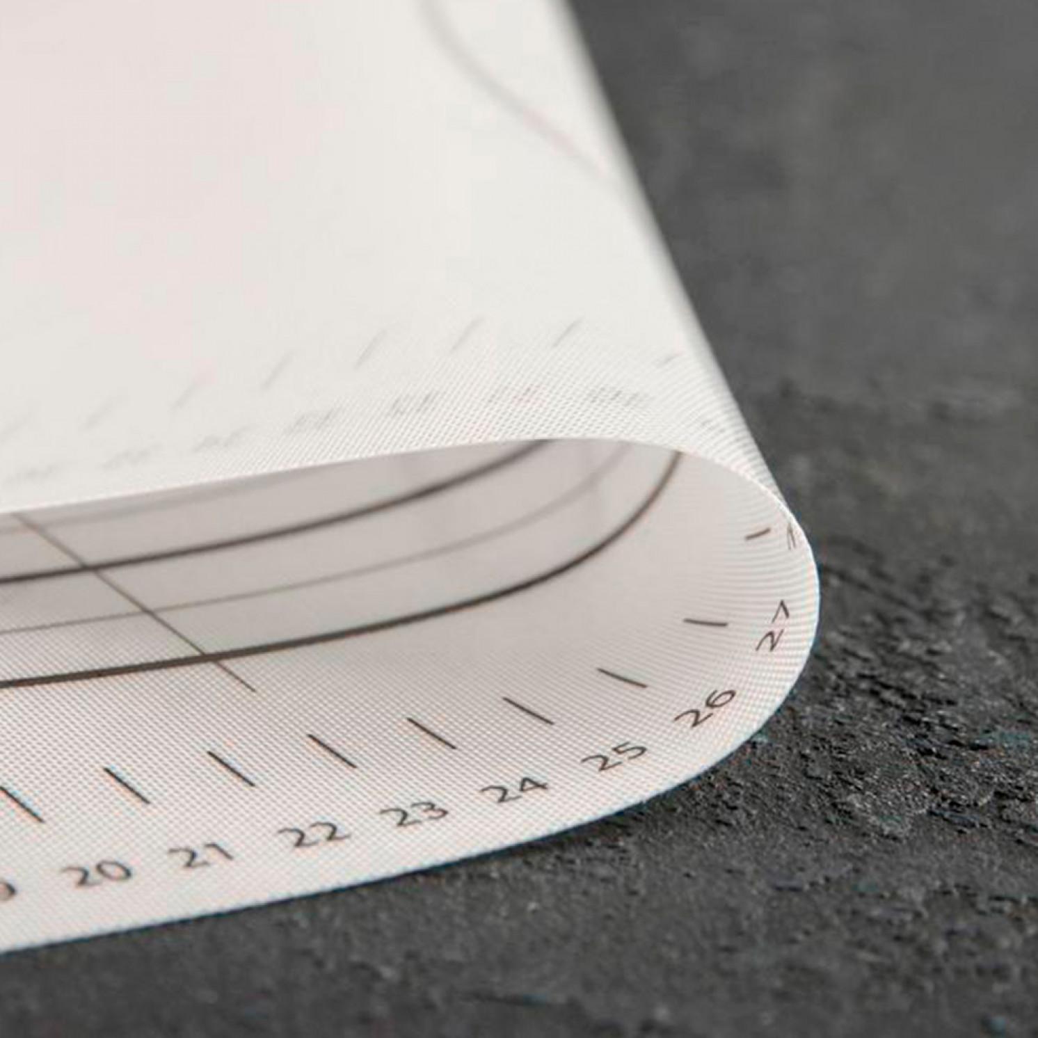Коврик армированный с разлиновкой KONFINETTA, 40×50 см, 0,44 мм