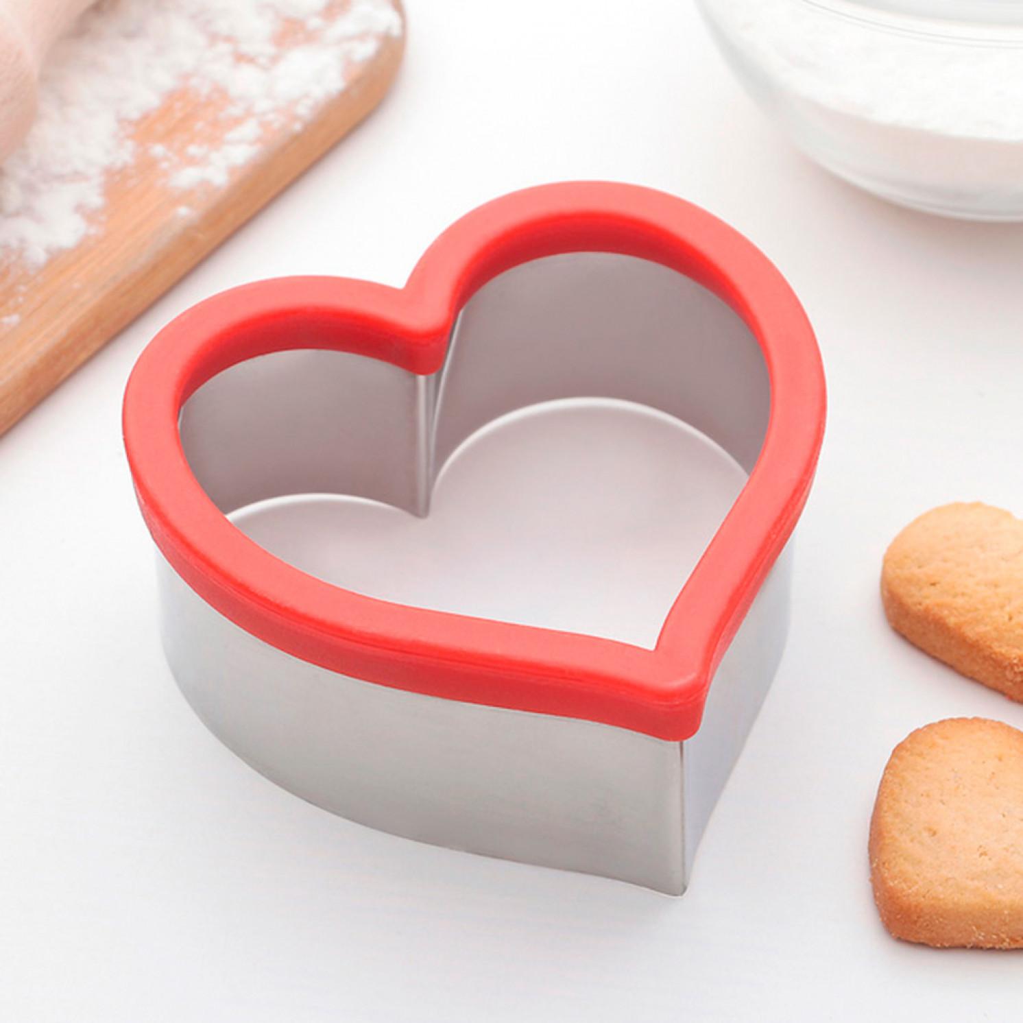 """Форма для вырезания печенья """"Сердце"""""""