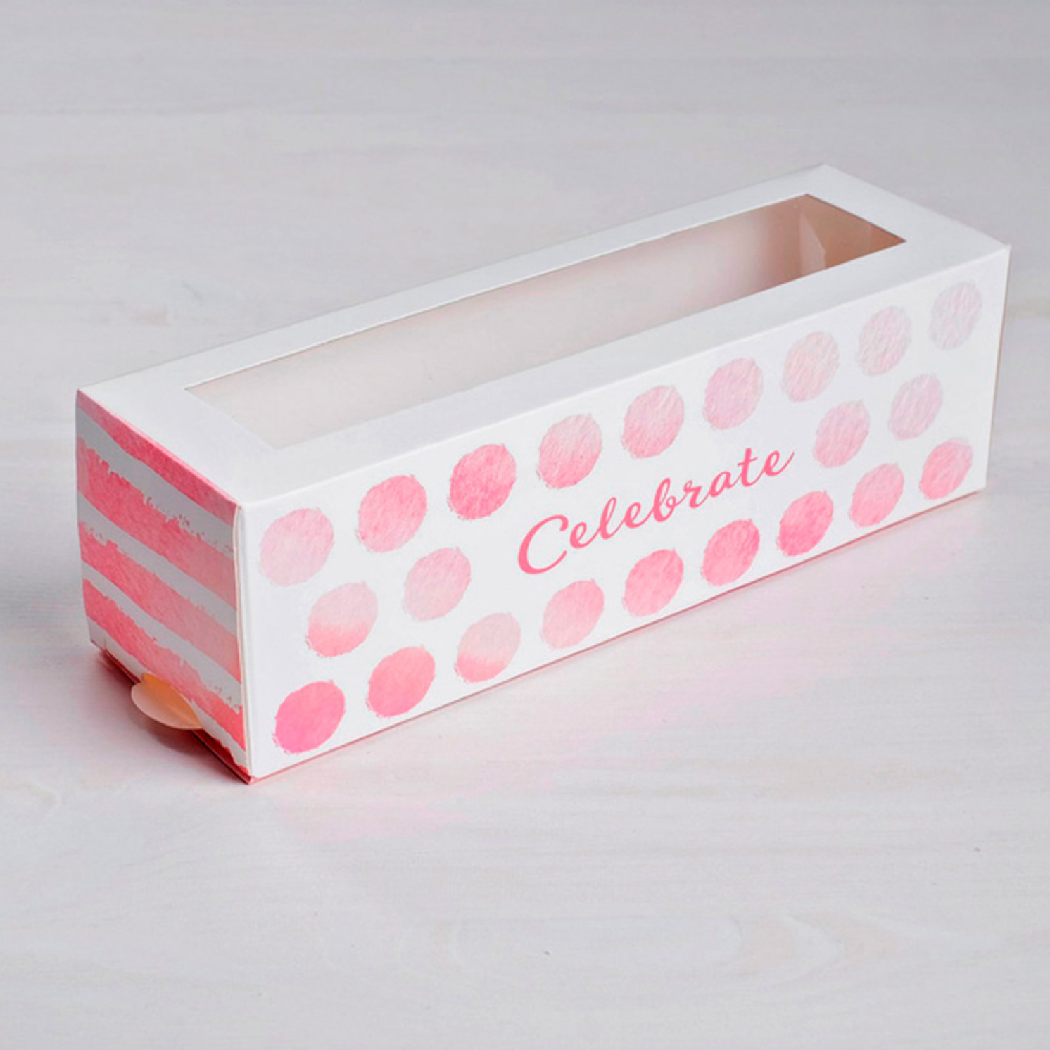 Коробка складная Celebrate 18 х 5,5 х 5,5 см.
