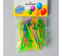 Шпажки для канапе «Шпага», набор 50 шт., 8 см, цвета МИКС
