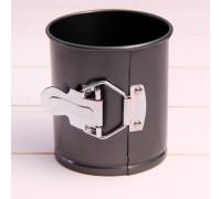 Форма для выпечки разъёмная «Элин», 10×10 см, антипригарное покрытие