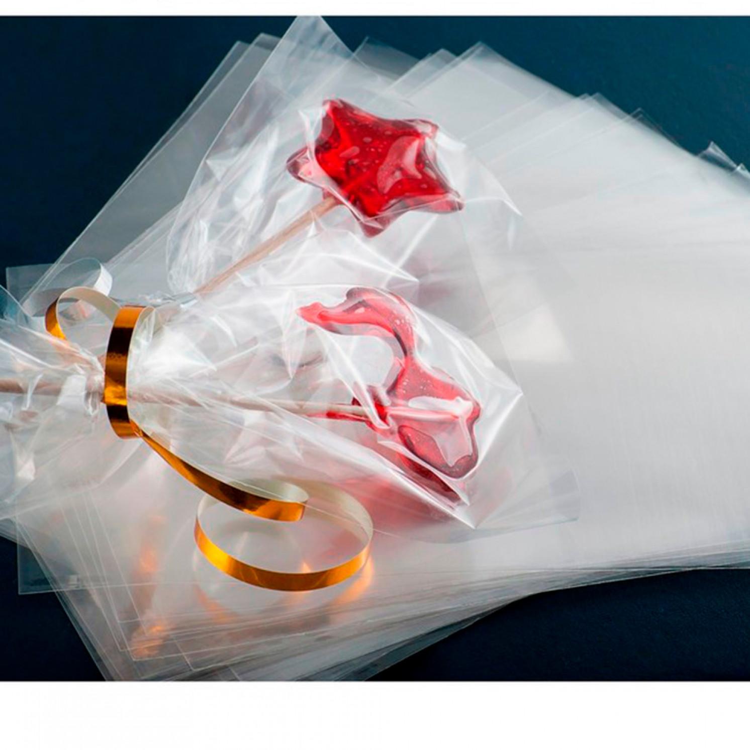 Набор пакетиков для упаковки леденцов 12,5×17 см, 100 шт