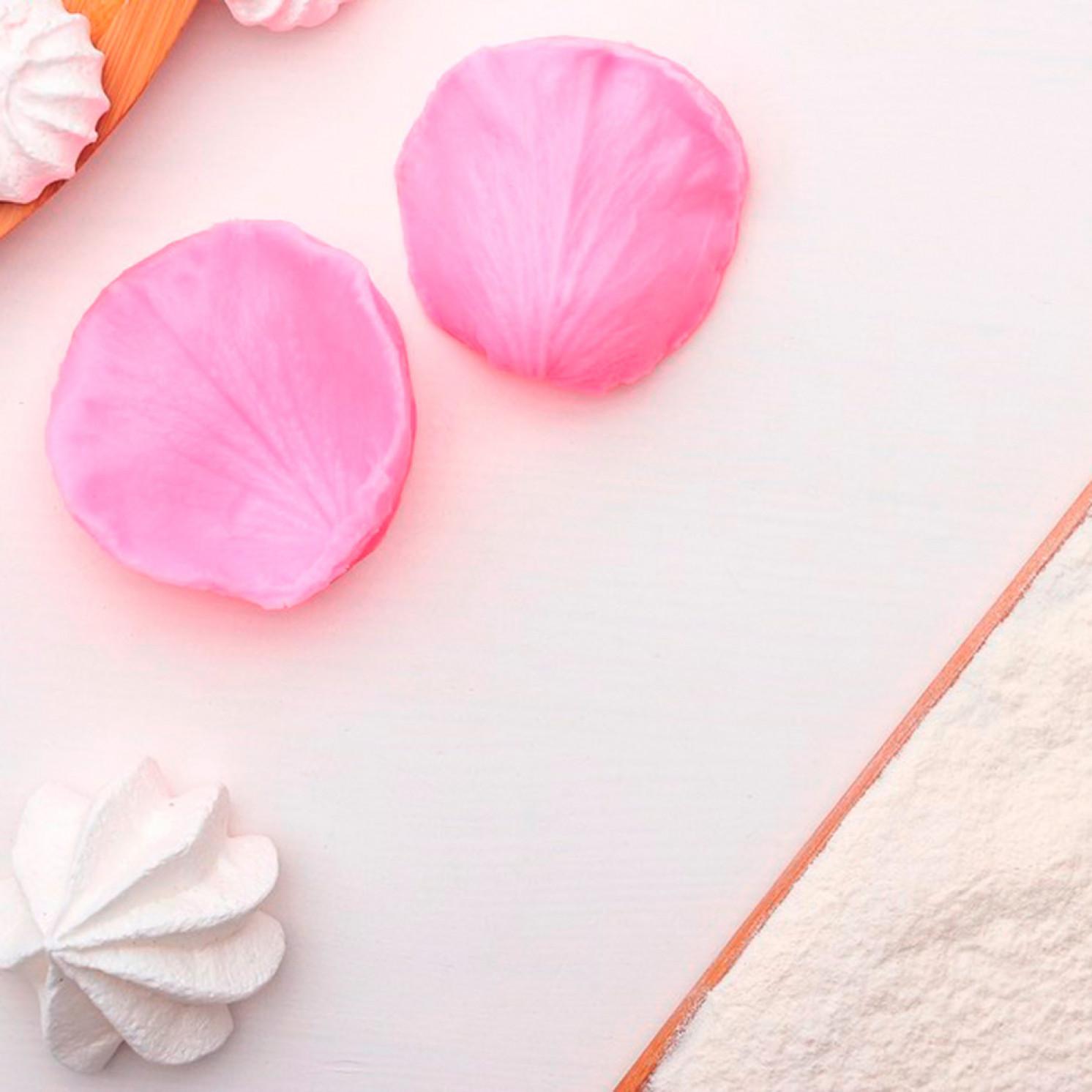 Молд силиконовый «Лепесток розы», 2 части, 6,7×6,2 см