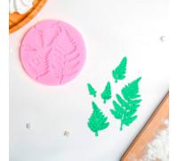 Молд силиконовый «Листопад», 9,2×9,2 см, цвет МИКС