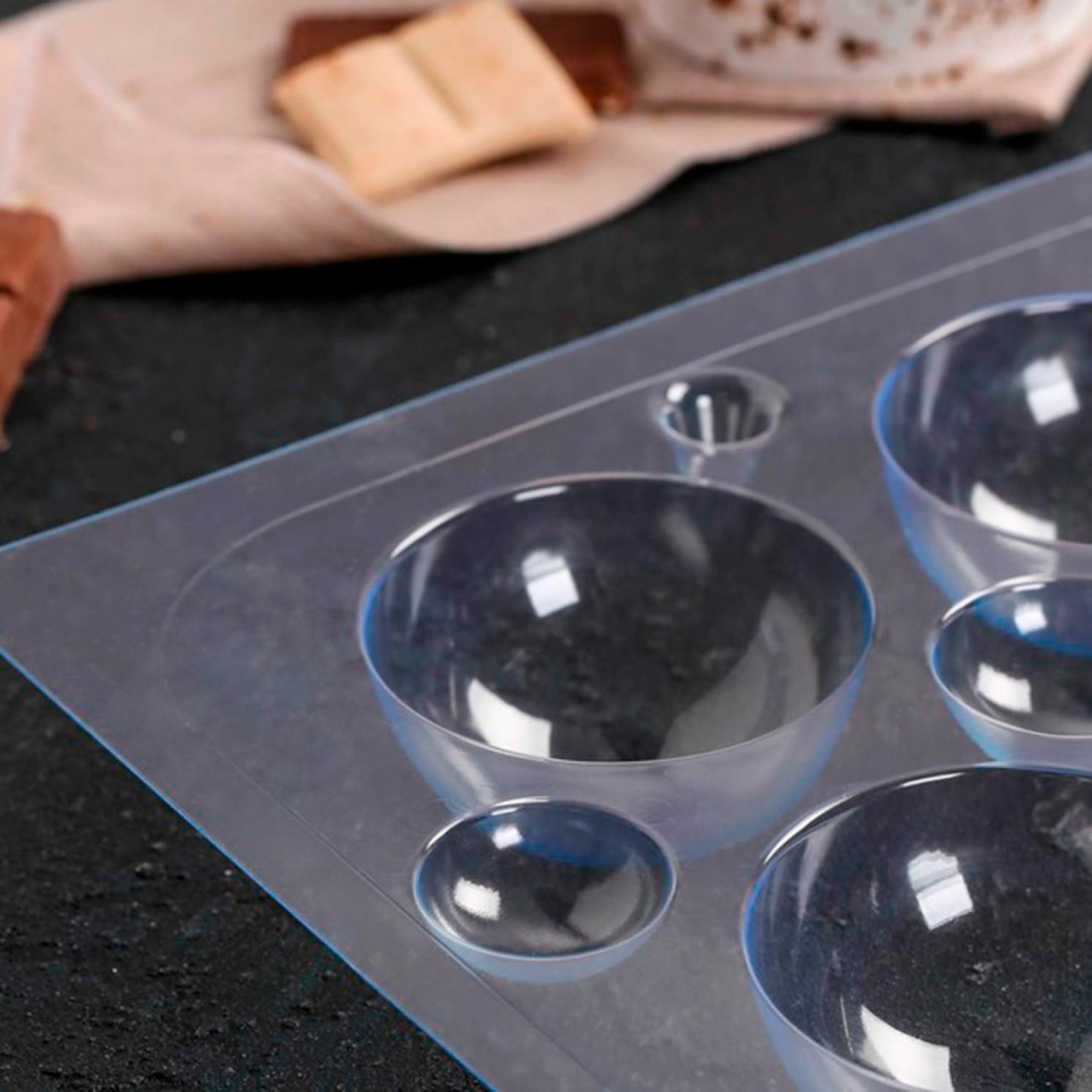 Форма для шоколада «Сферы 60 мм»