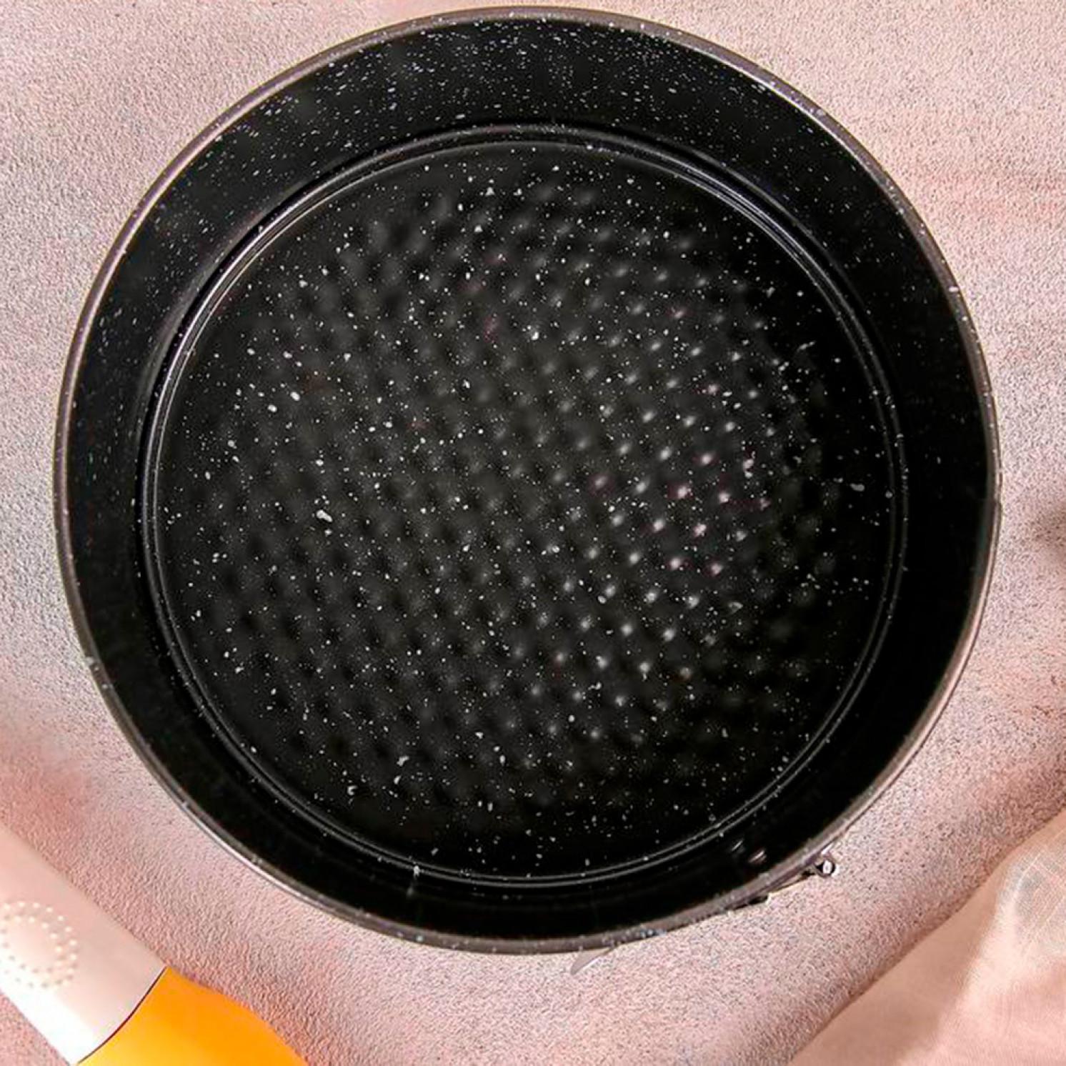 Форма для выпечки разъёмная «Мрамор», 18,5×7 см, антипригарное покрытие