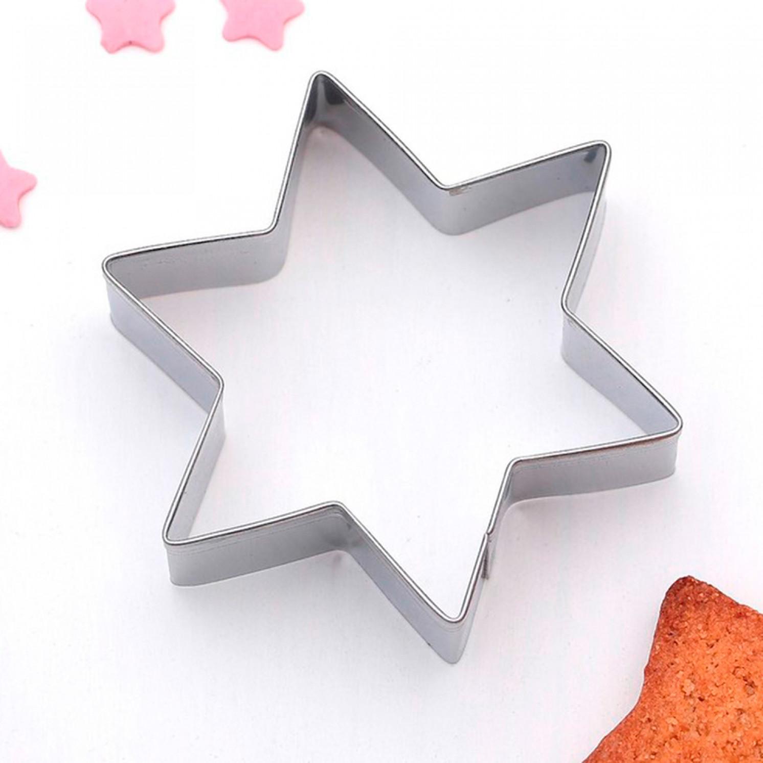 Форма для вырезания печенья «Звезда», 6×6×2 см