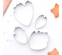 Набор форм для вырезания «Лепестки пиона», 7×6 см, 4 шт