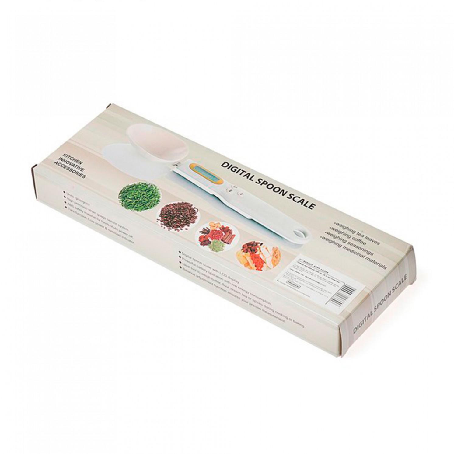 Весы кухонные LuazON LV-507, электронные, до 0.5 кг, чёрные